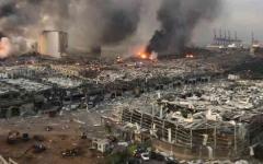 الصورة: الصورة: مخازن صواريخ «حزب الله» تثير مخاوف من كارثة جديدة في بيروت