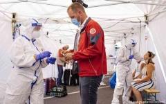 الصورة: الصورة: ألمانيا تسجل أكثر من ألفي إصابة جديدة بكورونا في أعلى معدل منذ أبريل