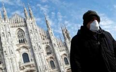 الصورة: الصورة: إيطاليا تسجل أسوأ حصيلة يومية بإصابات كورونا منذ رفع الإغلاق