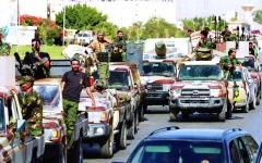 الصورة: الصورة: توافق ليبي على حل الميليشيات وطرد المرتزقة