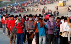الصورة: الصورة: الهند تسجل أكبر زيادة يومية في إصابات كورونا في العالم