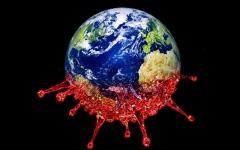 الصورة: الصورة: أكثر من نصف إصابات كوفيد ـ 19 سُجلت في 3 دول