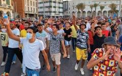 الصورة: الصورة: طرابلس تنتفض في وجه حكومة السراج