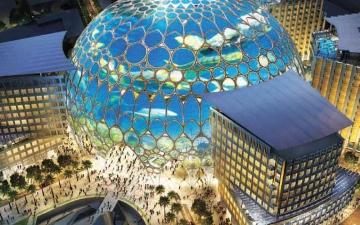 الصورة: الصورة: إكسبو دبي العالم يداً بيد يحمل راية المستقبل