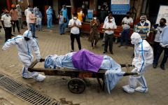 الصورة: الصورة: الهند تسجل أكثر من 67 ألف إصابة و1059 وفاة جديدة بكورونا