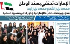 الصورة: الصورة: محمد بن راشد ومحمد بن زايد: فخورون بعطاء المرأة الإماراتية ودورها في مسيرة التنمية