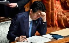 الصورة: الصورة: رئيس وزراء اليابان يعلن استقالته بسبب مشاكل صحية