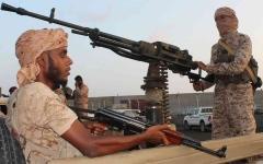 الصورة: الصورة: الحوثيون يقصفون مسجداً في مأرب بصاروخ باليستي