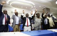 الصورة: الصورة: الحكومة السودانية  ومسار دارفور يوقعان آخر بروتوكول للسلام