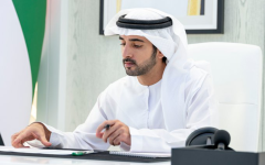 الصورة: الصورة: حمدان بن محمد يعتمد ضوابط وشروط وإجراءات تأسيس الشركات في دبي