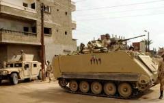 الصورة: الصورة: مصر.. مقتل 77 إرهابياً في سيناء