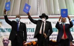الصورة: الصورة: برعاية إماراتية.. السودان يوقع اتفاق سلام تاريخياً