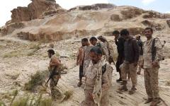 الصورة: الصورة: الحوثيون يستحدثون مقبرة في حديقة قصر أثري