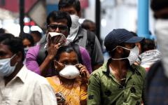 الصورة: الصورة: الهند تسجل زيادة قياسية في إصابات كورونا والإجمالي يتجاوز 4 ملايين