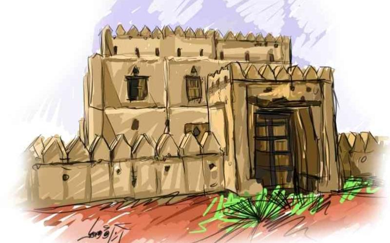 الصورة: الصورة: قلعة العانكة تاريخ ومكانة وأدوار