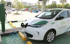 الصورة: الصورة: 20 %  من سيارات حكومة دبي كهربائية في 2025
