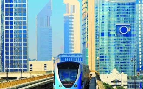 الصورة: الصورة: «مترو دبي»