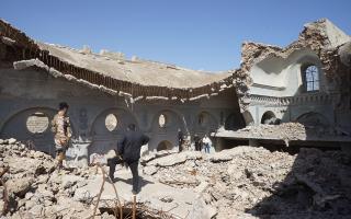 الصورة: الصورة: بدعم من الإمارات.. اليونسكو تبدأ المرحلة الأولى من إعادة إعمار كنيسة الطاهرة في الموصل