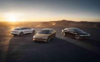 الصورة: الصورة: «لوسيد موتورز».. معايير جديدة في النقل المستدام
