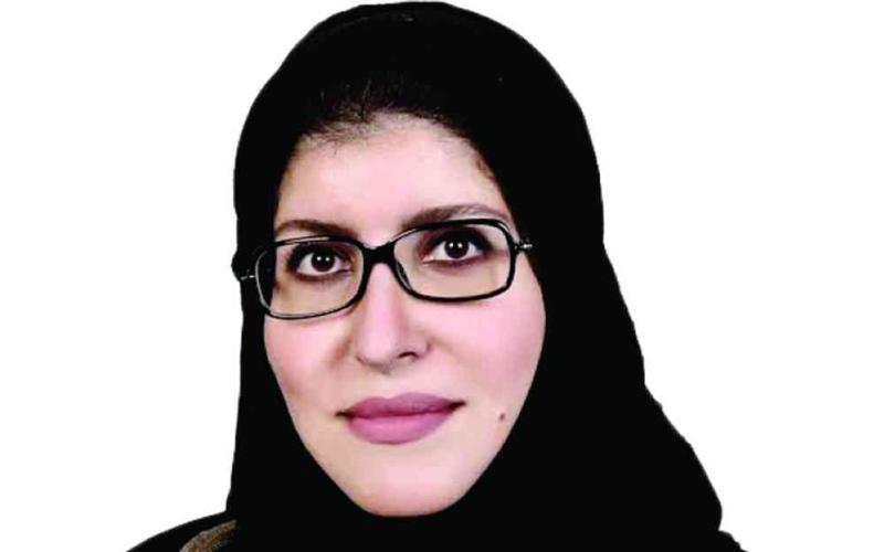 الصورة: الصورة: هالة القحطاني: الكتابة في السعودية  دخلت أفقاً متقدماً