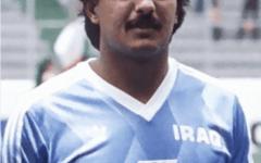 """الصورة: الصورة: """" فيفا"""" ينعى نجم الكرة العراقية ناظم شاكر"""