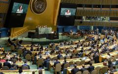 الصورة: الصورة: الأمم المتحدة تتبنى قراراً حول كورونا وأمريكا تصوّت ضده