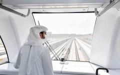 الصورة: الصورة: حمدان بن محمد: مترو دبي قصة نجاح حققتها دبي برؤية محمد بن راشد