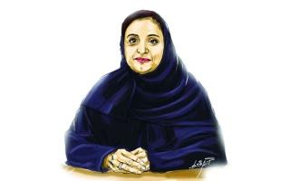 الصورة: الصورة: لبنى القاسمي.. أول وزيرة في تاريخ الإمارات