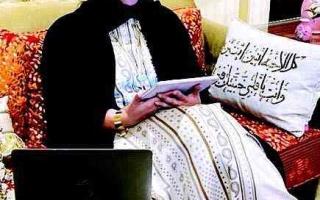 الصورة: الصورة: شما بنت محمد: «علمتني أمي حمدة»  المحبة والمساعدة والإصرار