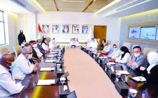 الصورة: الصورة: تكريم القائمين على برنامج دبي للتخصصات الطبية