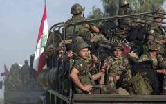 الصورة: الصورة: الجيش اللبناني يؤكد مقتل 3 عسكريين لدى مداهمتهم منزل أحد المطلوبين