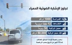 الصورة: الصورة: شرطة أبوظبي تبدأ في نشر المخالفات المتعلقة بحجز المركبات