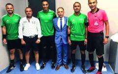 الصورة: الصورة: معاقبة مراقب مباريات مصري بسبب «شورت»