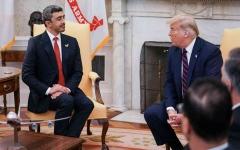 الصورة: الصورة: ترامب يستقبل عبدالله بن زايد في البيت الأبيض