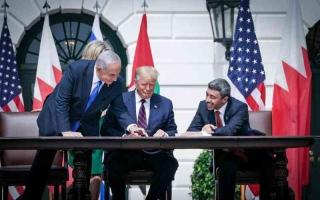 الإمارات توقع معاهدة السلام مع إسرائيل
