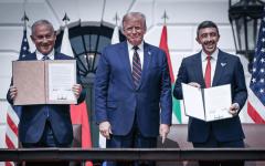 الصورة: الصورة: أبرز بنود معاهدة السلام بين الإمارات وإسرائيل