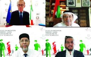 الصورة: الصورة: زكي نسيبة: الإمارات منصة عالمية للمواهب