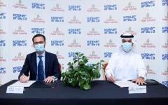 """الصورة: الصورة: """"الإمارات لتموين الطائرات"""" توقع مذكرة تفاهم لإنتاج أطعمة الكوشر"""