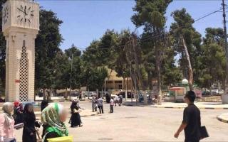 الصورة: الصورة: طالب أردني يشعل النار في نفسه والشرطة تستدعي رئيس الجامعة