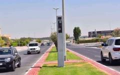 الصورة: الصورة: شرطة الشارقة تضبط سائقاً تجاوزت سرعة مركبته 278 كيلومتراً بالساعة