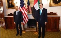 الصورة: الصورة: الإمارات وأمريكا تبحثان التطورات الاقتصادية بعد الجائحة