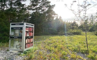 الصورة: الصورة: أصغر مكتبة عامة في العالم