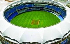 الصورة: الصورة: «أيقونة دبي»  جاهزة لدوري  الكريكيت الهندي