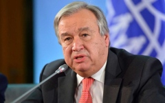الصورة: الصورة: غوتيريش يعلق على إعلان أمريكا إعادة فرض العقوبات الدولية على إيران