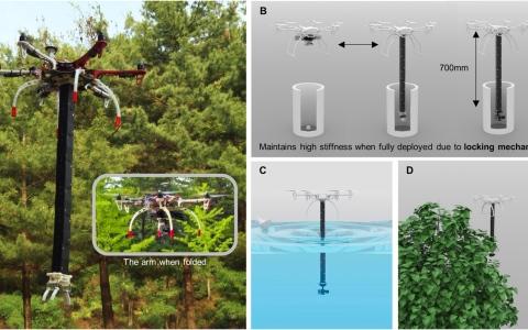 الصورة: الصورة: ذراع روبوتية مطاطية تستخدم في الأغراض الطبية