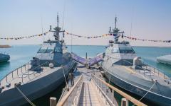 الصورة: الصورة: البحرية السعودية تتسلم زوارق اعتراض سريعة فرنسية الصنع