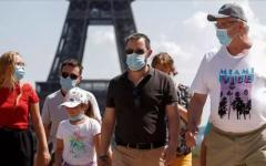 الصورة: الصورة: فرنسا تسجل أكثر من 10 آلاف إصابة جديدة بكورونا