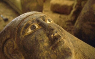 الصورة: الصورة: مصر تعلن كشفاً أثرياً جديداً قرب أهرامات الجيزة