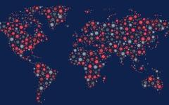 الصورة: الصورة: إصابات كورونا حول العالم تقترب من 31 مليونا