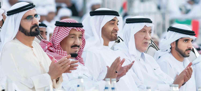 الصورة : قيادة حكيمة تجمع الإمارات والسعودية في تحالف قوي وشراكة عميقة | أرشيفية